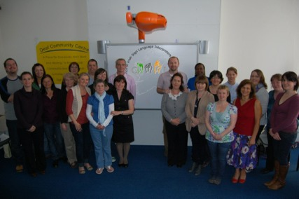 The attendees on 8 May 2011 when CISLI was formed
