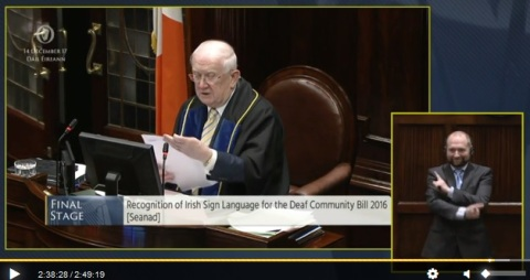 Irish Sign Language Act 2017 | CISLI - The Council of Irish Sign