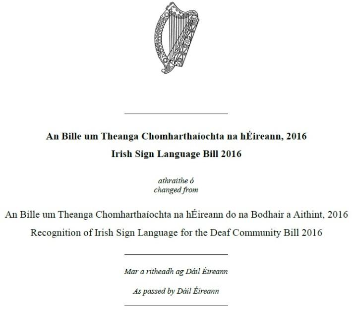 ISL Bill 2016